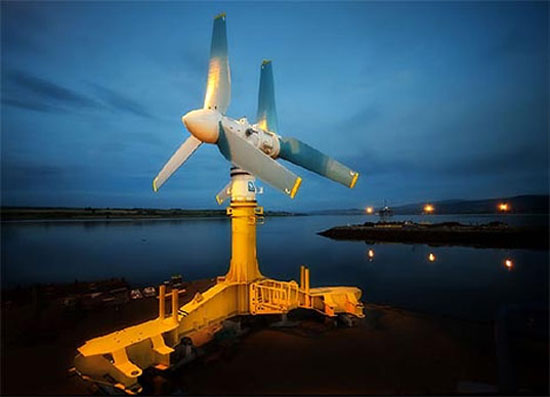 World's largest tidal turbine will power 1,000 homes