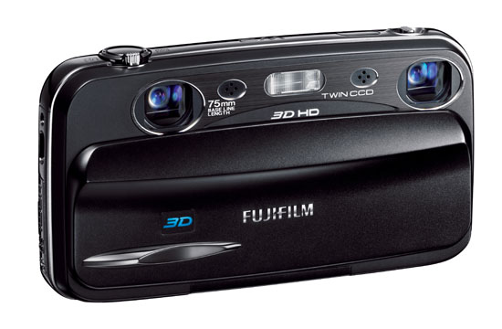 World's first point-and-shoot Camera to capture HD video in 3D 1
