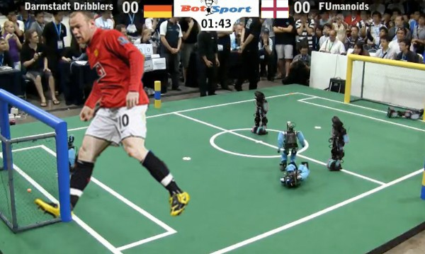 Robots 'To Beat World's Best' Footballers by 2050