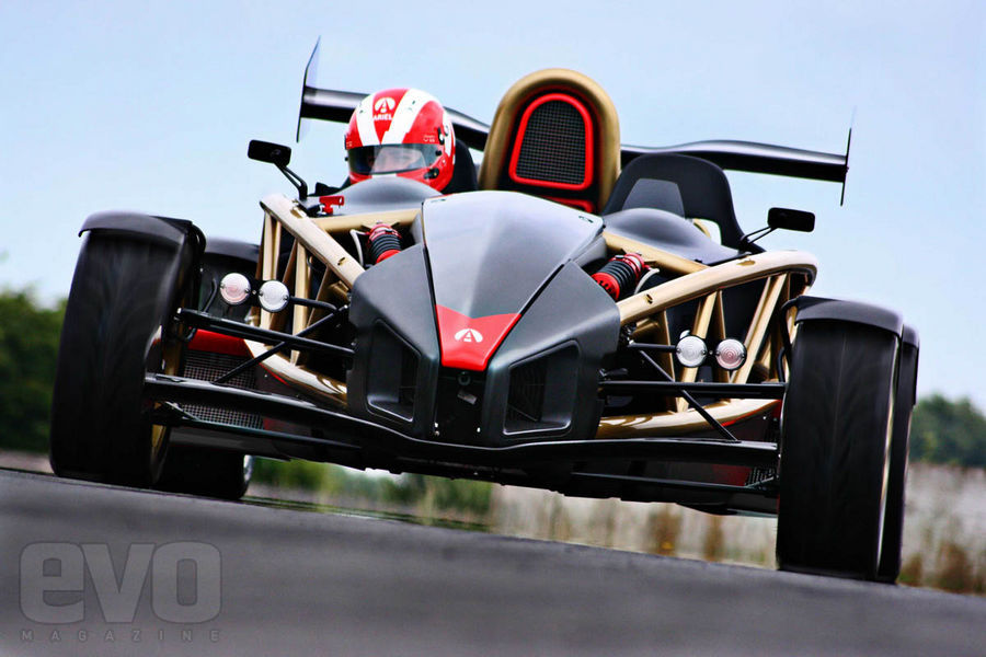 The World's New Fastest Accelerating Car The Ariel Atom V8
