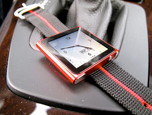 The Glorious iPod Nano iWatch Wristband is Now Available