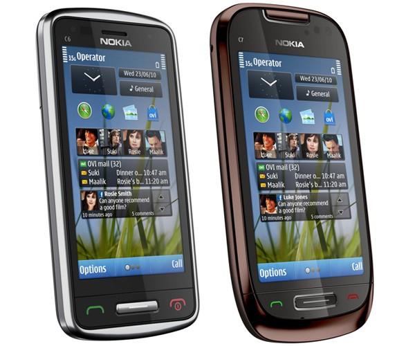Nokia Announces New C6 & C7 Symbian^3 Cell Phones