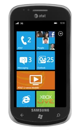 Microsoft Unveiled Windows Phone 7 Smartphones 1