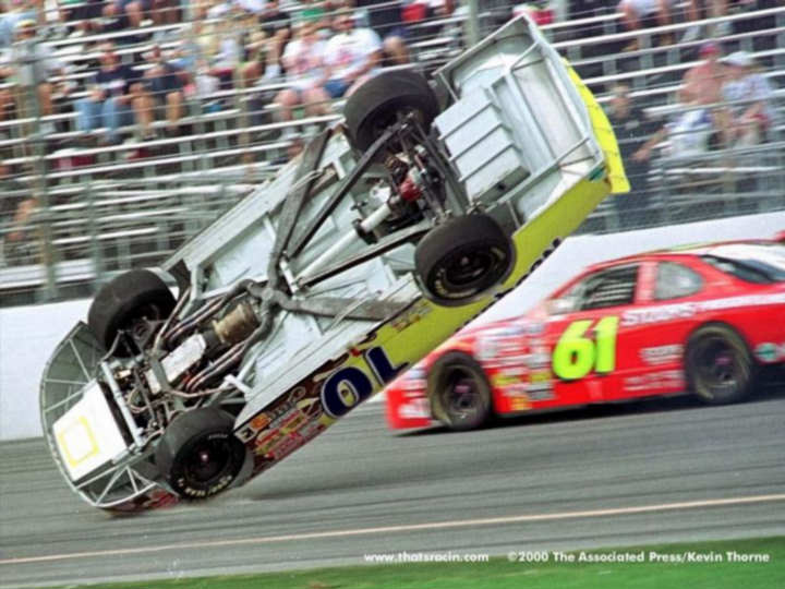 Top 10 Infamous Crashes In Auto Racing[VIDEOS]