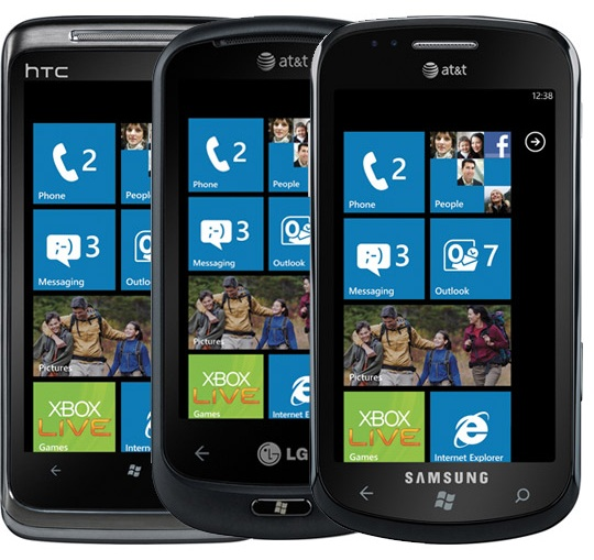 Microsoft Reveals WP7 Sales Figures