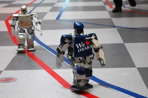 World's First Robot Marathon Kicks Off In Japan