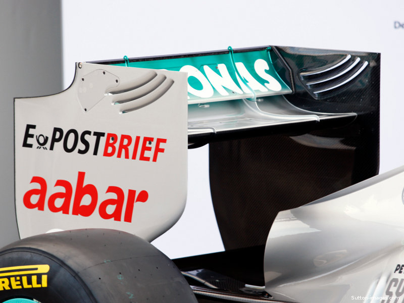 How Formula One Adjustable Rear Wings Work