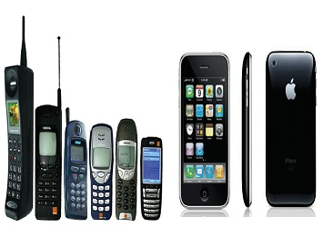 The Evolution of Mobile Phones [VIDEO]
