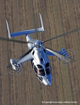 Eurocopter X3 Hybrid: The World's Fastest Helicopter