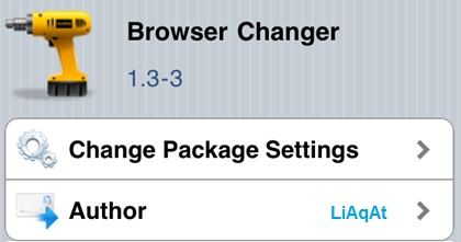 How To Change The Default Browser In iOS 1