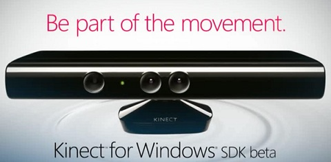 Microsoft Announces Kinect SDK For Windows