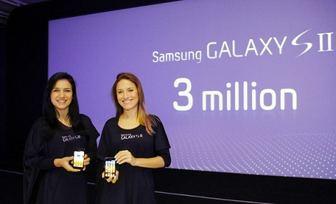 Samsung's Galaxy S II Becomes Company's Fastest Selling Phone: 3 Million Units In 55 Days