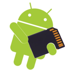 android sd card, android