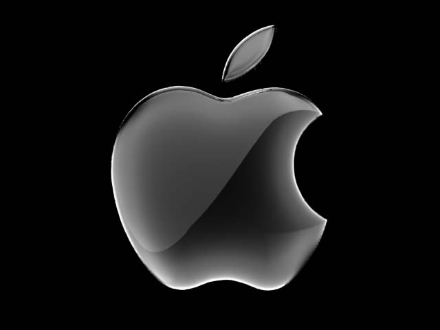 apple, apple logo