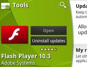 flash for android, android flash