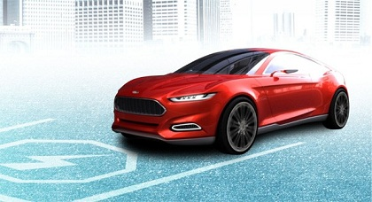 Ford Evos: A Cloud-Connected Hybrid EV Of The Future [Concept]