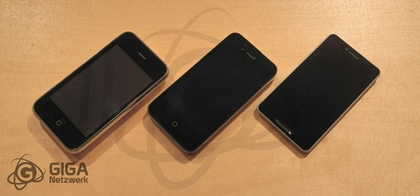 First Rumours Based Physical Mockup Of 'iPhone 5' Created [PICS]