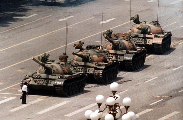 Tank Man, Tank Man By Jeff Widener, Jeff Widener, Unknown Rebel