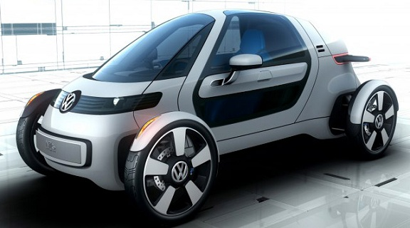 Volkswagen NILS: The Electric F1 Car Of The Future [PICS]