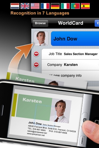 productivity apps, iphone productivity apps, iphone apps, WorldCard Mobile
