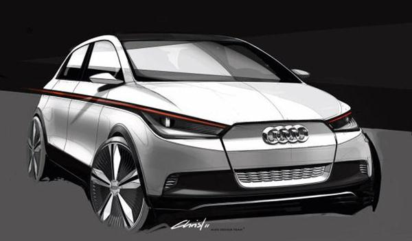 Audi To Introduce A2 Electric Concept Car At 2011 Frankfurt Motor Show