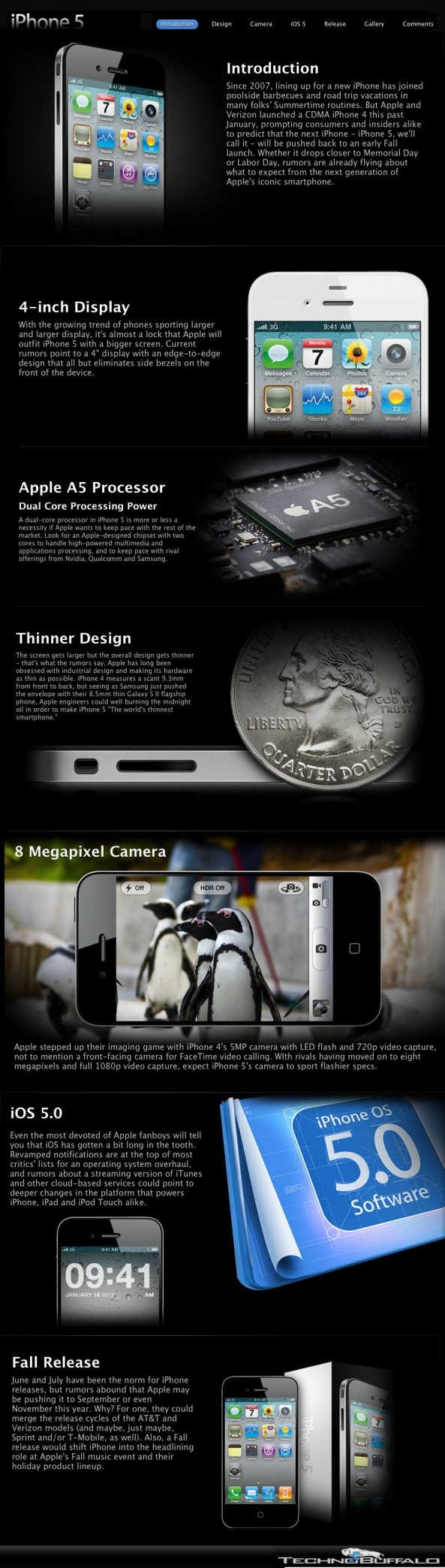 The iPhone 5 Rumour Roundup [INFOGRAPHIC]
