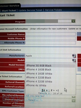 White iPhone 4S Pops Up in AT&T's System [PHOTO]