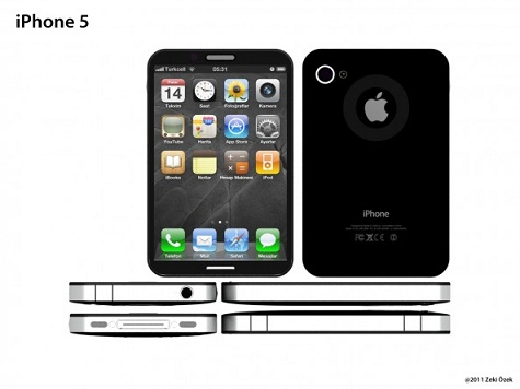 iPhone 5 Could Feature A Smaller, Squared Design [CONCEPT]