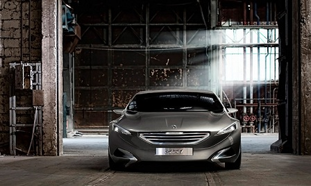 'Peugeot HX-1' The World's First Diesel Hybrid Car
