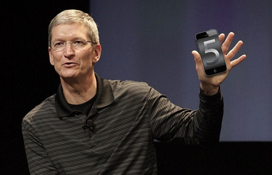 tim cook, apple, iphone 5, iphone 5 launch, time cook iphone 5
