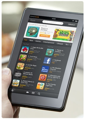 Amazon's Kindle Fire On Track To Outsell iPad [REPORT]
