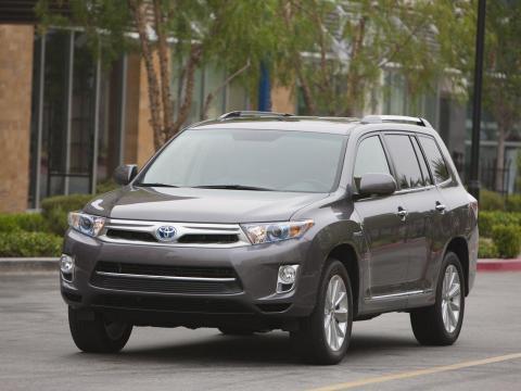 Toyota Highlander Hybrid,hybrid cars