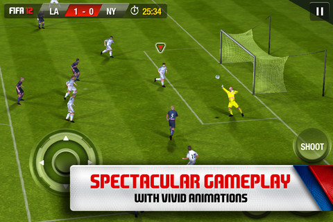 FIFA 12 For iPhone, iPad And iPod Touch Now Available For Download