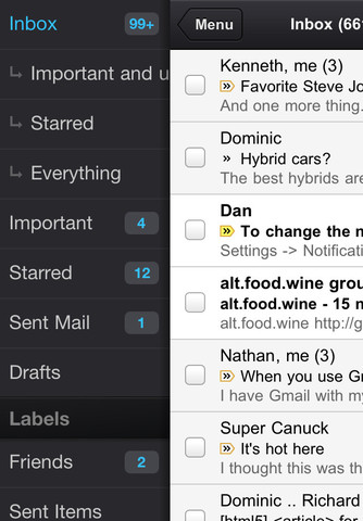 The Official Gmail App For iPhone, iPad And iPod Touch Now Available For Download