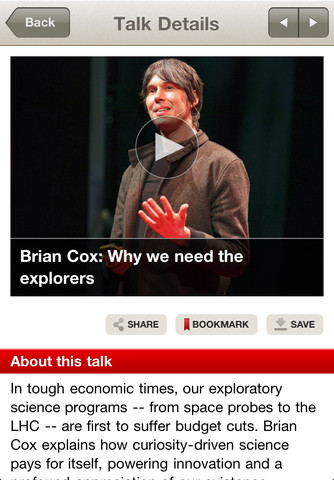 ted talks,ted,iphone,iphone apps,latest iphone news,app store
