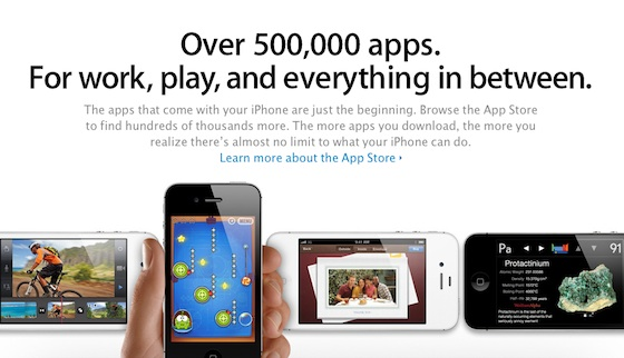 App Store Now Harbors 500,000 Apps, 18 Billion App Downloads