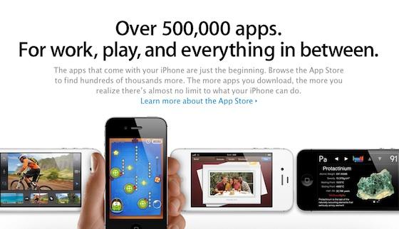 App Store Now Harbors 500,000 Apps, 18 Billion App Downloads
