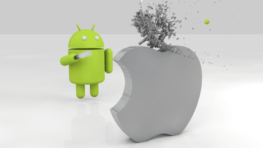 Android Vs iOS,ios vs android,ios,android