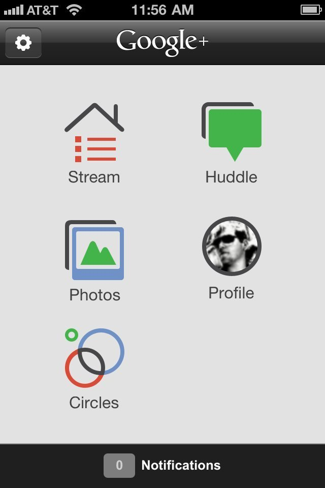 Google+ App For iPhone Updated: Search Integrated
