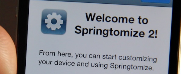 Completely Change Your iPhone With Springtomize 2: Download Now [Video]