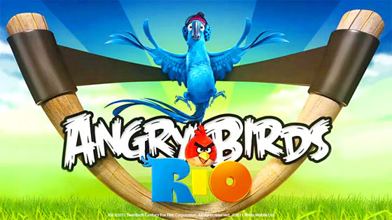 Angry Birds Rio,angry birds,