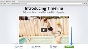 facebook,Facebook Timeline,Timeline,Getting Facebook Timeline,How to get timeline?,how to tutorial facebook timeline