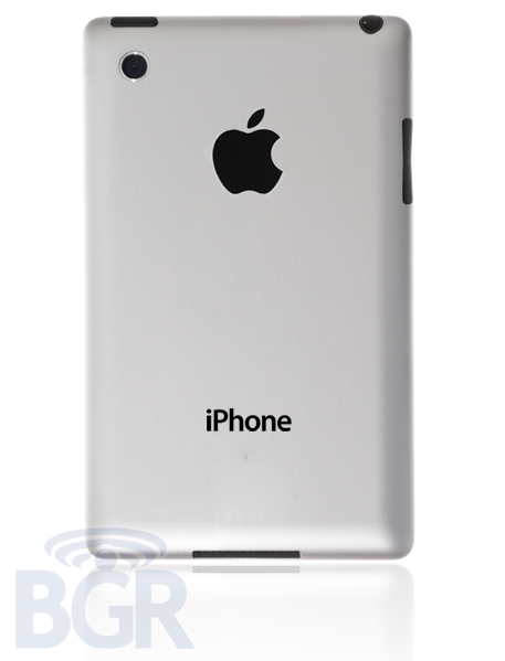 A Redesigned iPhone 5 With Aluminium Back Coming In 2012? [REPORT]