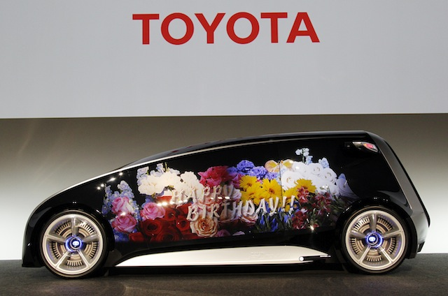 Toyota Fun-Vii,toyota,concept cars,cars,automotive,smartphone,smartphones,electric cars,best electric cars