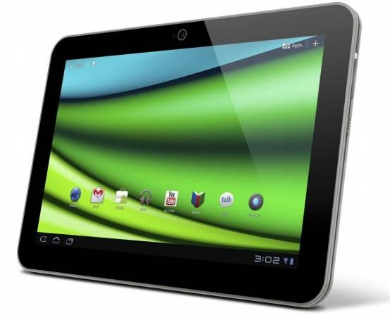 Toshiba Unveils 'Excite X10' : The World's Thinnest Tablet [CES 2012] 1