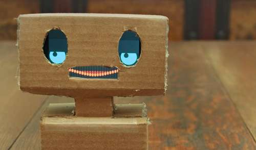 Mimbo: An Easy To Create Robot Which Mimics Your Emotions 1
