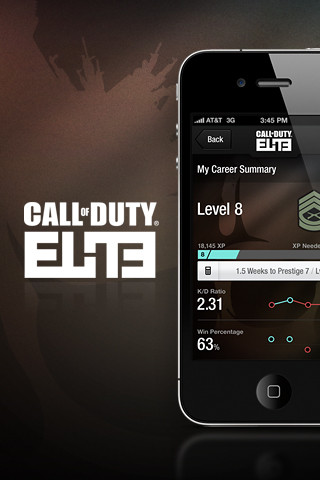 Call Of Duty: Elite Released For iOS - Download Now