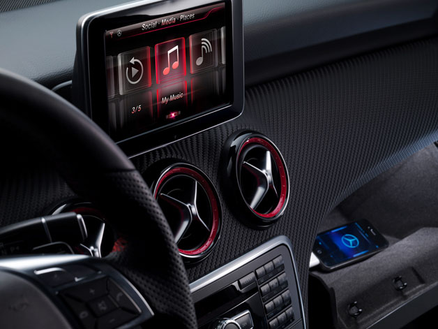 SIRI To Accompany The New Mercedes Benz A Class