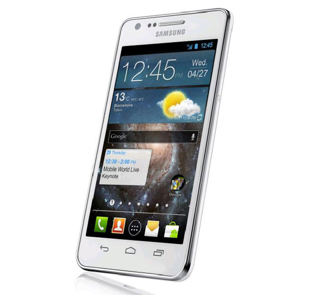 Samsung Galaxy S II Plus Photo Leaked — Same Design, Android 4.0 & Capacitive Buttons