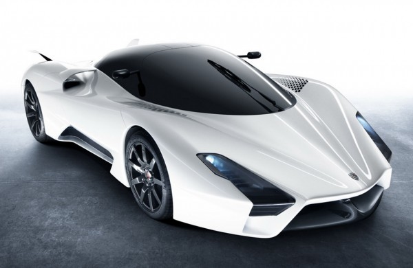 Top 10 Fastest Cars In The World — 2012 1